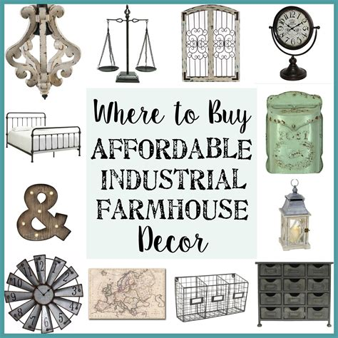 where to buy affordable industrial farmhouse decor bless 39 er house