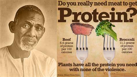 dr sebi  protein food myth clip youtube