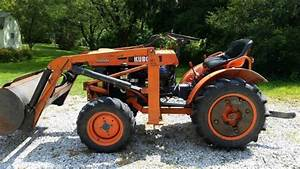 Kubota B6000 Compact Tractor 4wd Arps B206 Front End