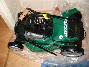 Qualcast Petrol Lawnmower  U2013 158cc  Self Propelled