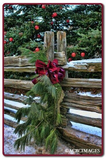 ideas for decorating iron fence posts for christmas best 25 split rail fence ideas on rail fence rustic fence and rustic landscaping