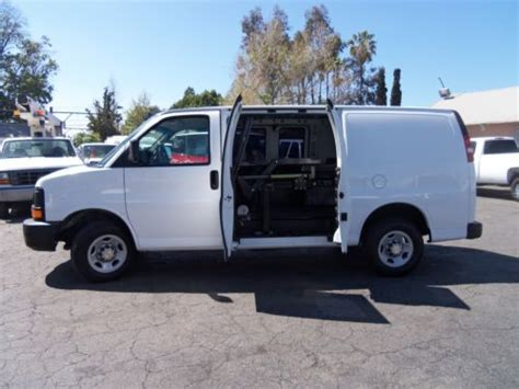 purchase   chevy express van equipped  funeral