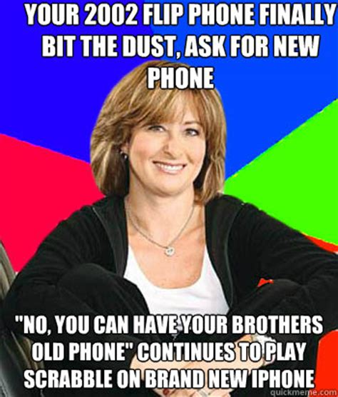 Flip Phone Meme - your 2002 flip phone finally bit the dust ask for new phone quot no you can have your brothers old
