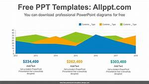 Area Chart Powerpoint Diagram Template