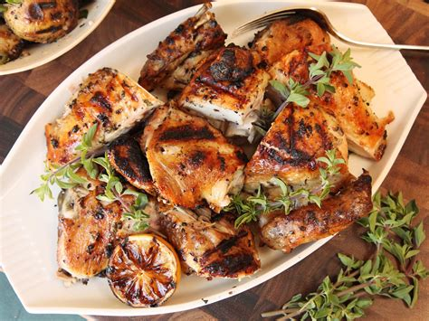 best grilled meals a double dose of marinade gives greek style grilled chicken extra flavor serious eats