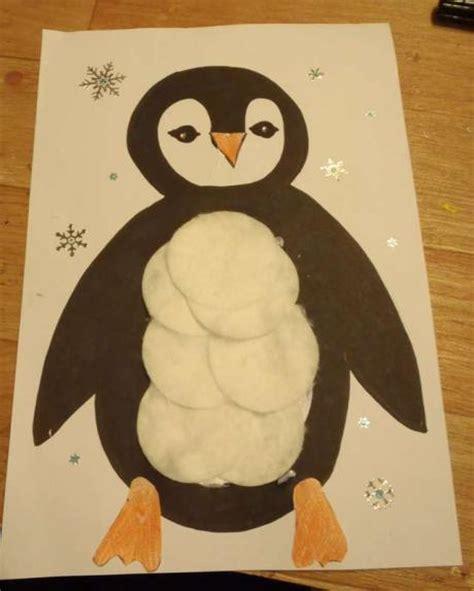 activité manuelle cuisine collage pingouin rapide activité manuelle et bricolage