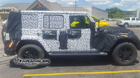 jeep wrangler diesel prototype reappears great