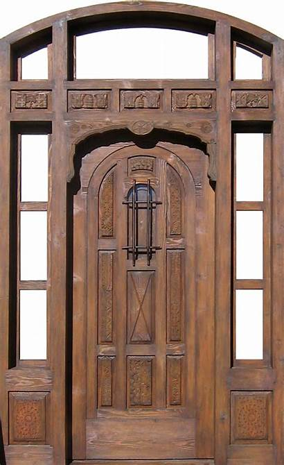 Door Transom Arched Sidelights Doors Exterior Project
