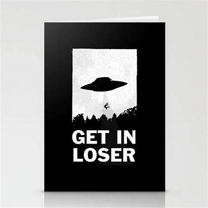Loser Cards Stationery Society6