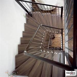 Geländer Für Treppe : treppen einzelansicht treppen im trend ~ Markanthonyermac.com Haus und Dekorationen