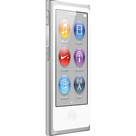 ipod nano generationen apple 16gb ipod nano silver 7th generation md480ll a b h