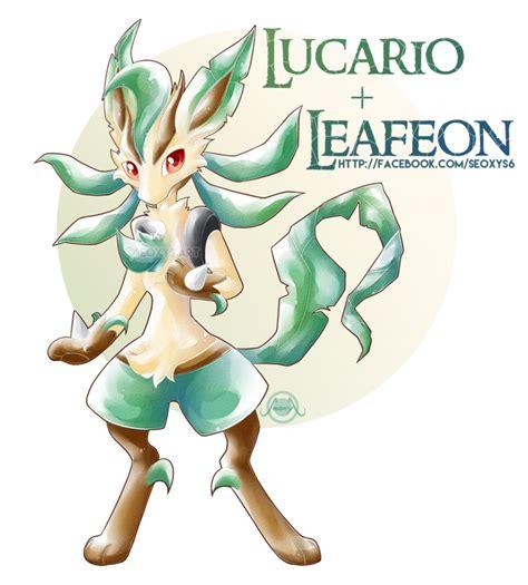 leafeon  lucario  seoxys fakemon pinterest