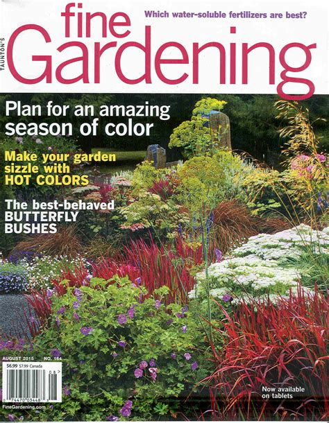 garden magazines fine gardening magazine subscriptions renewals gifts