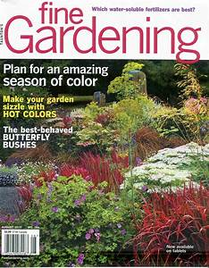 Fine gardening magazine subscriptions renewals gifts for Garden magazine
