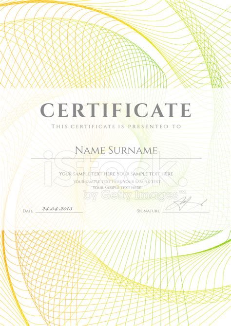 certificate diploma background design  colorful