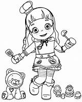 Ruby Rainbow Mewarnai Gambar Coloring Colorir Choco Printable Untuk Cartoon Colorear Desenhos Siap Rubby Imprimir Paginas Boneka Colouring Boyama Hitam sketch template
