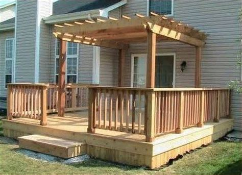 exteriors terrific small deck design ideas with curved