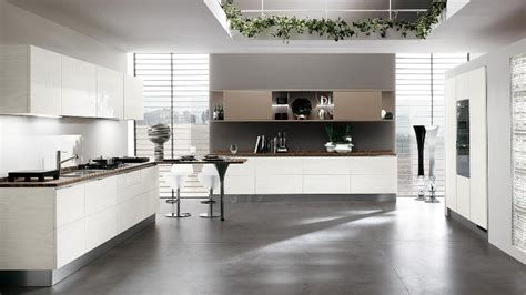 white open kitchen contemporary kitchens for large and small spaces 276 | open kitchen space white cabinets 20