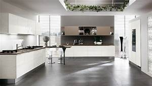 contemporary kitchens for large and small spaces With kitchen colors with white cabinets with chemin de table papier
