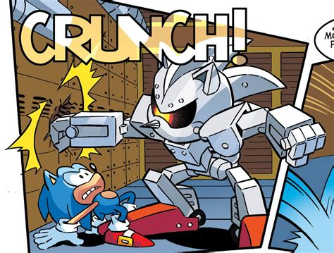 Silver Sonic Mkii Robot Sonic T