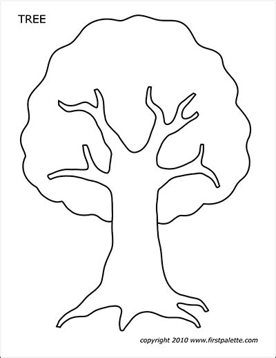 christmas tree templates  printable templates coloring pages firstpalettecom