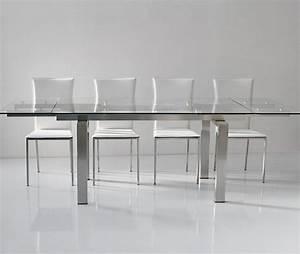 javascript est desactive dans votre navigateur With salle À manger contemporaineavec table de salle a manger en verre avec rallonge