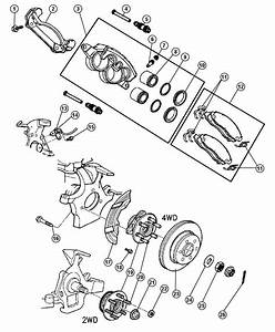 Dodge Dakota Caliper Disc Brake Right Mopar Reman Wiring Diagram