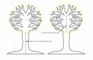 Make A Three Dimensional Fall Tree With Felt Leaves