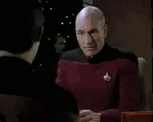 Picard, head in hands gif from /u/joshwithaq : mytreasurechest