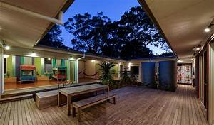 Small, Vacation, Home, Wraps, Around, Large, Private, Courtyard