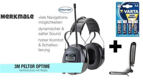 gehörschutz mit radio geh 246 rschutz mit radio