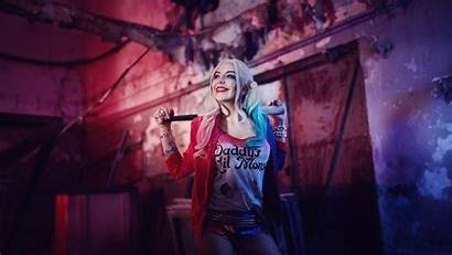 Quinn Harley Wallpapers Squad Suicide Cosplay Backgrounds