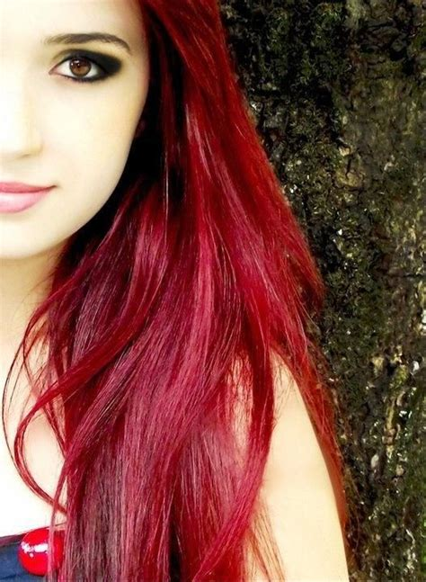 I Love The Long Red Hair When Brown Eyed Girls Where It