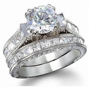 Wedding rings pictures ladies wedding ring sets for Ladies diamond wedding ring sets