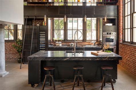 cuisine loft industriel cuisine rétro loft recherche cuisine déco