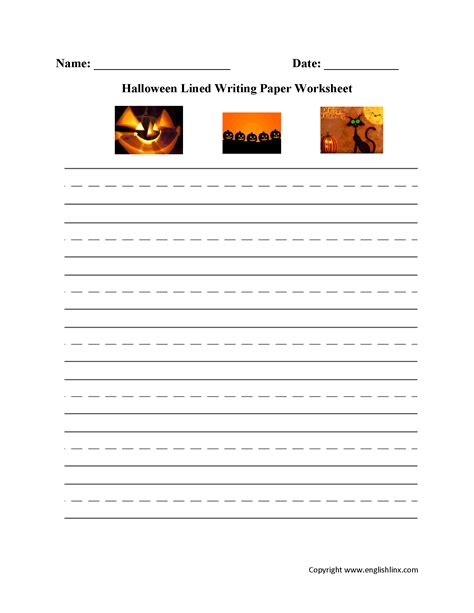 writing worksheets lined writing paper worksheets