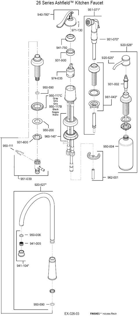 price pfister kitchen faucet parts diagram price pfister ashfield shower trim bed mattress sale