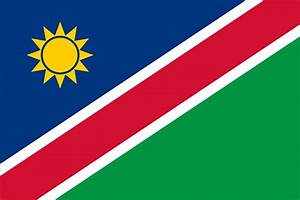 Flag of Namibia image and meaning Namibia flag - country flags