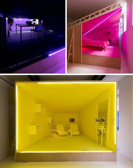 interior colorful rooms monochromatic room interior