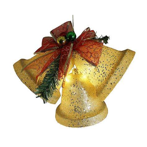lighted christmas bells windows battery operated lighted glittering christmas bells pre