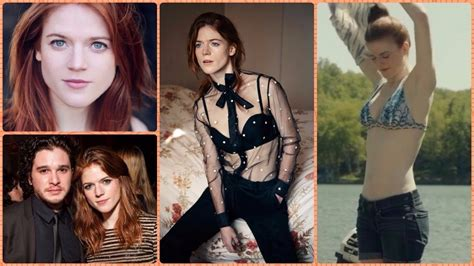 rose leslie ygritte  game  thrones rare