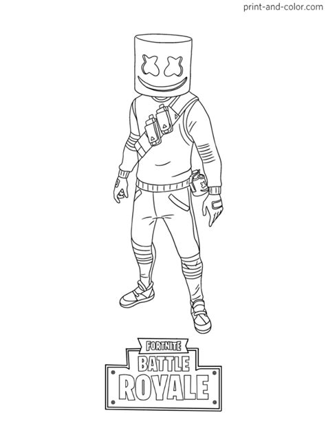 fortnite coloring pages  kids coloring pages