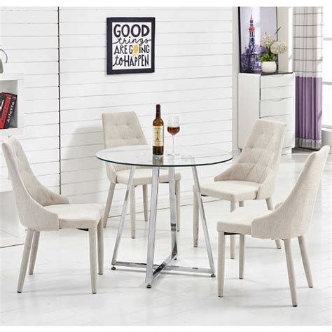 contemporary kitchen tables and chairs glass dining table with chairs design decoration 8321