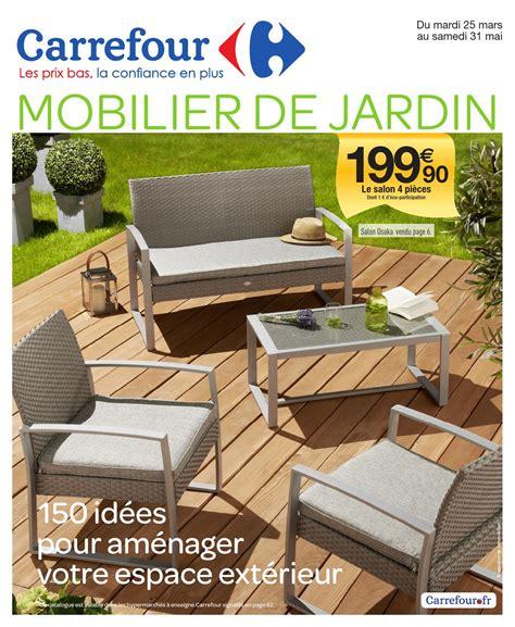 chaise de jardin carrefour home table de lit