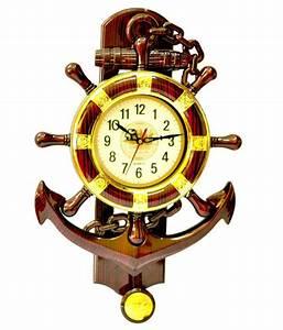 Abee, Fancy, Anchor, Design, Wall, Clock, Buy, Abee, Fancy, Anchor, Design, Wall, Clock, At, Best, Price, In