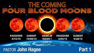 The Coming Four Blood Moons - Part 1