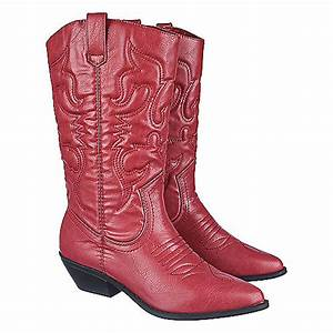 women39s low heel western boot reno s red shiekh shoes With cowboy boots reno