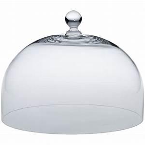 Cloche De Verre : cloche en verre pour plat gateau 29 cm ~ Teatrodelosmanantiales.com Idées de Décoration
