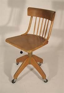 Chaise De Bureau En Bois : chaise de bureau bois ~ Mglfilm.com Idées de Décoration