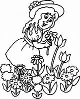 Gardener Jobs Coloring Kb sketch template